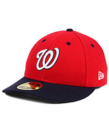 New Era Washington Nationals Low Profile AC Performance 59FIFTY Cap