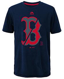 Majestic  Boston Red Sox Split Series Ultra T-Shirt, Big Boys (8-20)