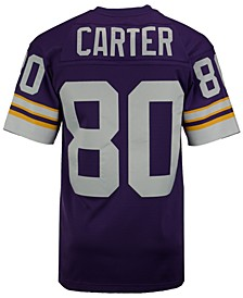 Men's Cris Carter Minnesota Vikings Replica Throwback Jersey