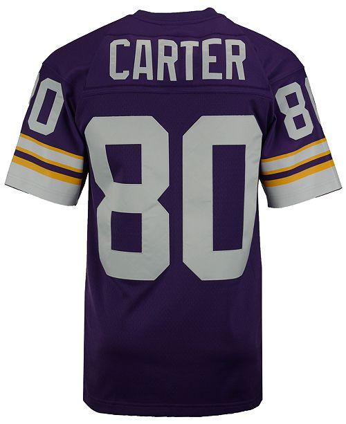 Nice Mitchell & Ness Men's Cris Carter Minnesota Vikings Replica