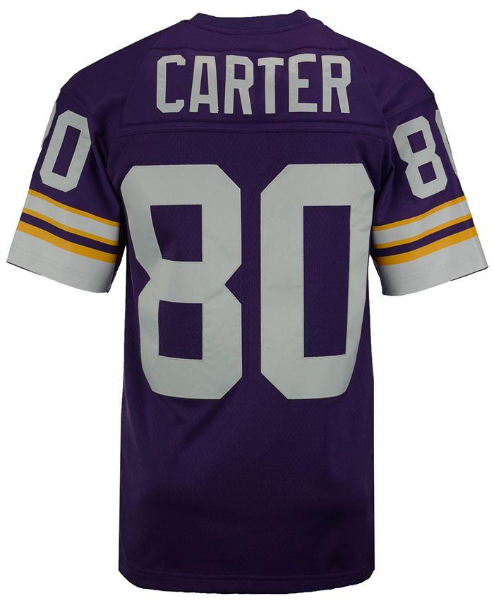 Mitchell & Ness Men's Cris Carter Minnesota Vikings Replica ...