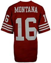 0a9f7e11a Mitchell & Ness Men's Joe Montana San Francisco 49ers Replica Throwback  Jersey
