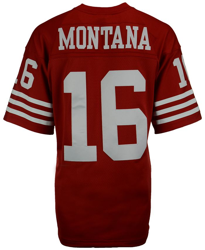 Mitchell & Ness Men's Joe Montana San Francisco 49ers Replica ...