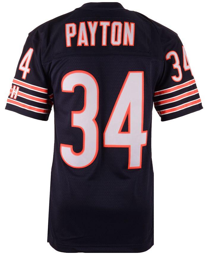 Mitchell & Ness Men's Walter Payton Chicago Bears Replica ...