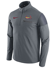 Nike Men's St. Louis Cardinals Half-Zip Elite Pullover