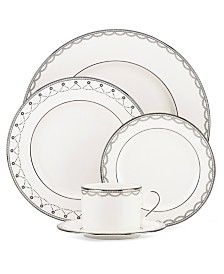 Lenox Dinnerware, Iced Pirouette Collection