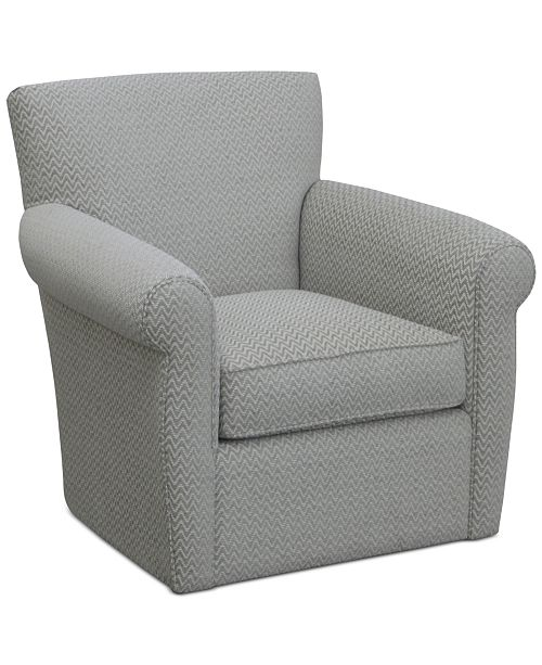 Furniture Doss II Fabric Swivel Accent Chair