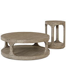 Derevo 2-Pc. Table Set (Coffee Table & End Table)