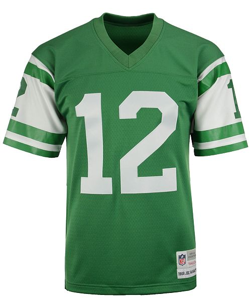 the latest ee941 fa496 Men's Joe Namath New York Jets Replica Throwback Jersey