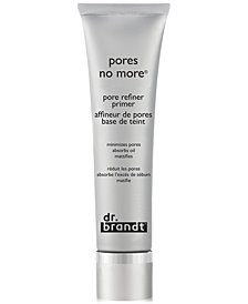 dr. brandt Pores No More Pore Refiner Primer, 15 ml (Travel Size)
