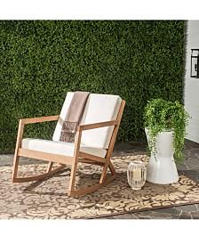 Nicksen Outdoor Rocking Chair, Quick Ship