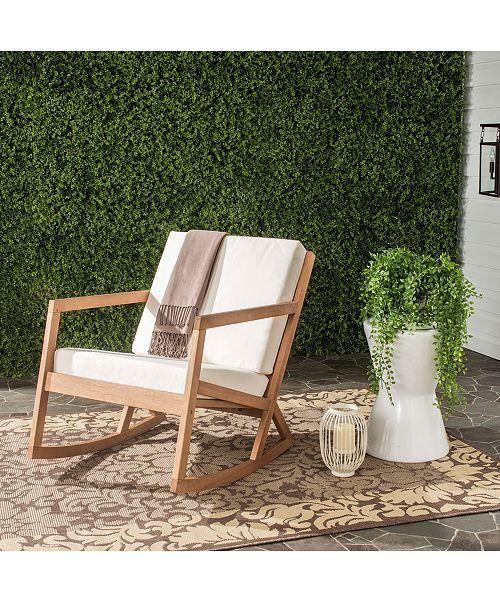 Safavieh Nicksen Outdoor Rocking Chair