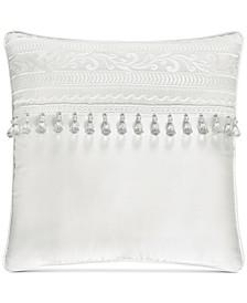 "Bianco 18"" Square Decorative Pillow"