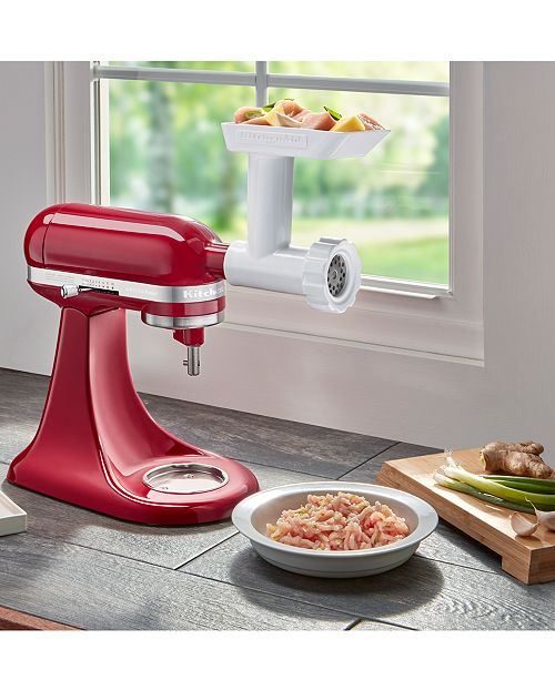 KitchenAid FGA Food Grinder Stand Mixer Attachment - Small ... on lenox meat grinder, meat grinder accessories, food processor blades, bosch meat grinder, target meat grinder, meat grinder parts, electrolux meat grinder, electric meat grinder, kitchenaid mixer cover, home meat grinder, pampered chef meat grinder, ge meat grinder, manual meat grinder, gaggia meat grinder, food grinder, electric meat slicer, commercial meat grinder, honeywell meat grinder, blendtec meat grinder, vitamix meat grinder, tupperware meat grinder, meat grinder attachment, magic bullet meat grinder, toshiba meat grinder, hobart meat grinder, oster meat grinder, baby food grinder, sears meat grinder, waring pro meat grinder, wolf meat grinder, panasonic meat grinder, kitchenaid coffee grinder, professional meat grinder,