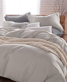 DKNY PURE Comfy Cotton Full/Queen Duvet Cover