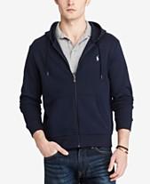 472578aaf8 Polo Ralph Lauren Men s Double-Knit Full-Zip Hoodie