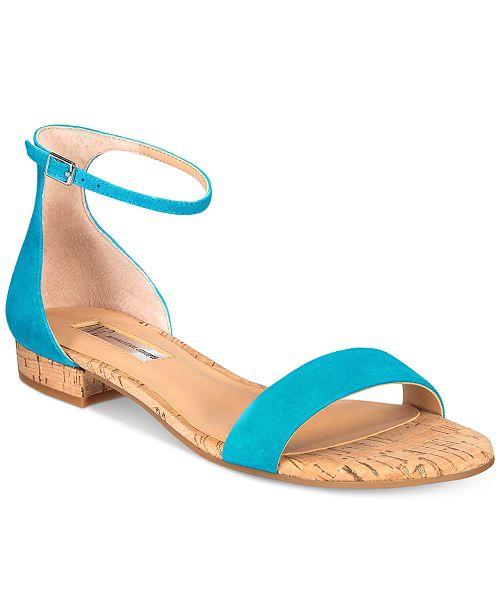 INC International Concepts I.N.C. Women's Yafaa Flat Sandals, Created for Macy's