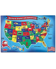Toy, U.S.A. Map Floor (51 pc)
