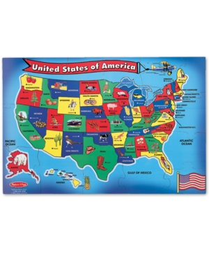 Melissa and Doug Toy, U.s.a. Map Floor (51 pc)