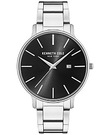 Kenneth Cole Men's Stainless Steel Bracelet Watch 42mm KC15059002