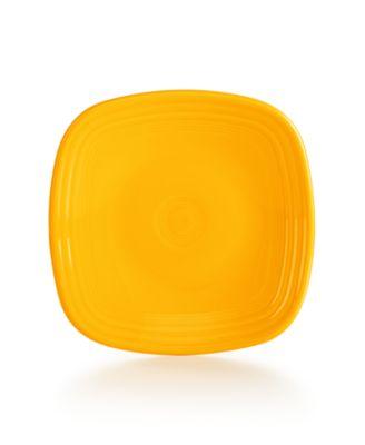 Daffodil Square Salad Plate