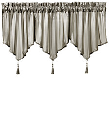 "J Queen New York Farmington Sheer 40"" x 21"" Ascot Valance"