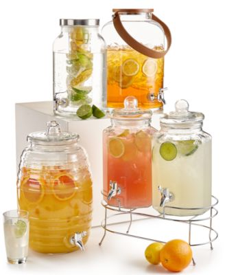 Double Beverage Dispenser with Stand, Created for Macy's