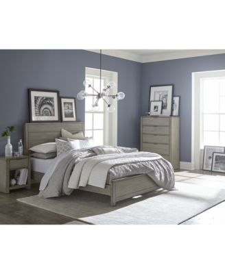 Awesome The Simple, Classic Lines Of The Charming Tribeca Grey Bedroom Furniture  Collection Are Subtly Updated With A Crisp Gray Finish To Offer  Contemporary Style ...