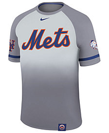 Nike Men's New York Mets Dri-Fit Sublimated Raglan T-Shirt