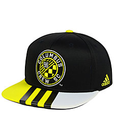 adidas Columbus Crew SC Authentic Team Snapback Cap