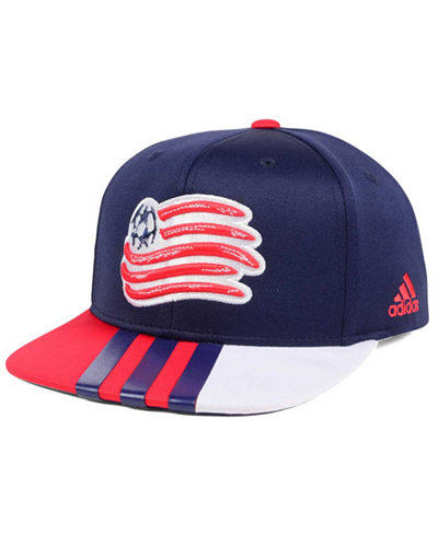 adidas New England Revolution Authentic Team Snapback Cap