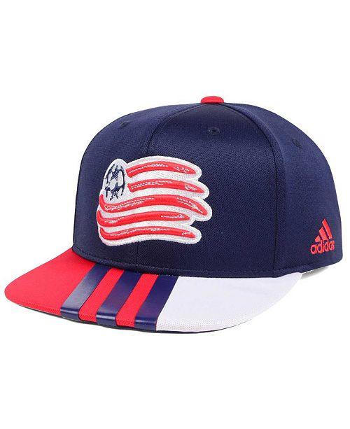 adidas New England Revolution Authentic Team Snapback Cap