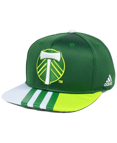 adidas Portland Timbers Authentic Team Snapback Cap