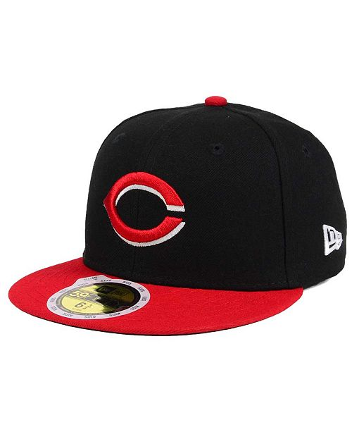 timeless design 8cb18 57d25 ... 59FIFTY Cap  New Era Kids  Cincinnati Reds Authentic Collection 59FIFTY  ...