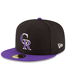 New Era Kids' Colorado Rockies Authentic Collection 59FIFTY Cap
