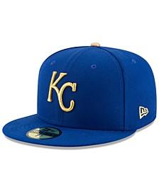 Kids' Kansas City Royals Authentic Collection 59FIFTY Cap