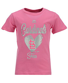 Majestic St. Louis Cardinals Autograph T-Shirt, Toddler Girls