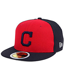 New Era Kids' Cleveland Indians Batting Practice Diamond Era 59FIFTY Cap