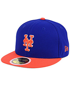 New Era Kids' New York Mets Batting Practice Diamond Era 59FIFTY Cap