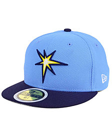 New Era Kids' Tampa Bay Rays Batting Practice Diamond Era 59FIFTY Cap