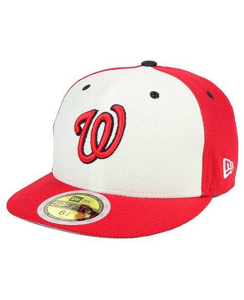 747e1231e ... 59FIFTY Cap; New Era Kids' Washington Nationals Batting Practice  Diamond Era 59FIFTY ...