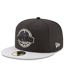 New Era Detroit Pistons Pintastic 59FIFTY Cap
