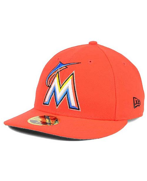 san francisco 8c848 8199d New Era. Miami Marlins Low Profile AC Performance 59FIFTY Cap. Be the first  to Write a Review.  34.99. Now  25.00 (28% off) With offer  15.00. main  image ...