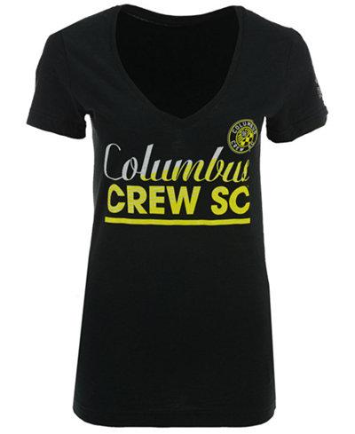 adidas Women's Columbus Crew SC Slant Line Repeat T-Shirt