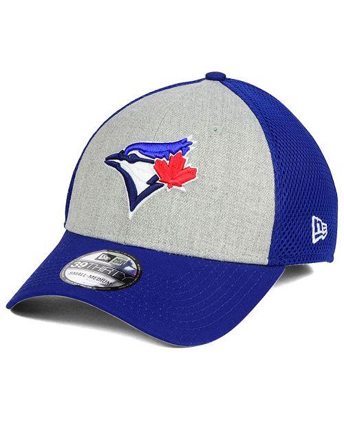 0b7140cdf6ed New Era Toronto Blue Jays Heather Team Neo 39THIRTY Cap - Sports Fan ...