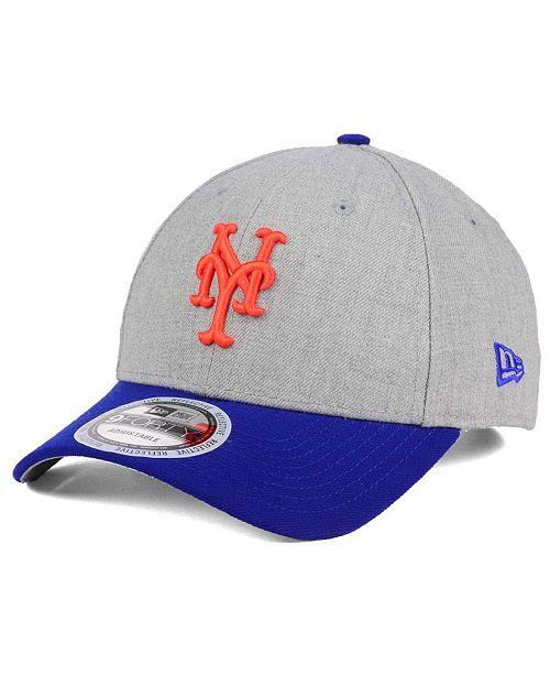 New Era New York Mets Heather Hit 9FORTY Cap