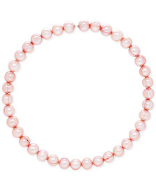 Cultured Freshwater Pearl (9mm) Coil Choker Necklace