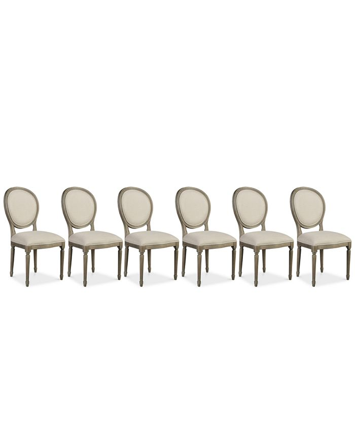 Furniture - Tristan Dining Chair Set (6 Side Chairs), Only at Macy's