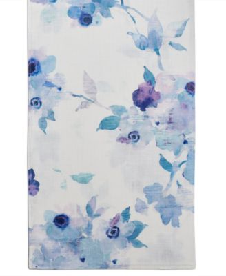 "Indigo Floral 70"" Table Runner"