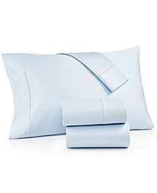 AQ Textiles Bergen 4-Pc. Queen Sheet Set, 1000 Thread Count 100% Certified Egyptian Cotton